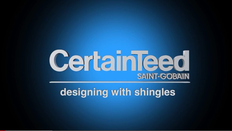 link to certainteed designing with shingles video