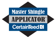 Certainteed master shingle applicator logo